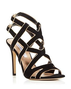 Diane von Furstenburg Ankle Strap Sandals - Valene High Heel