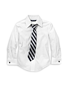 Brooks Brothers Boys' French Cuff Dress Shirt - Little Kid, Big Kid - Bloomingdale's_0