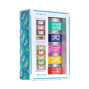Kusmi Tea Wellness Teas and Infuser Gift Set