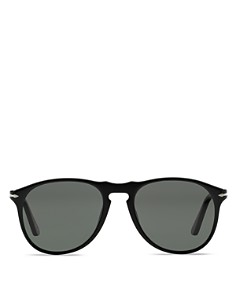 Persol - Men's Polarized Icons Collection Evolution Pilot Sunglasses, 55mm