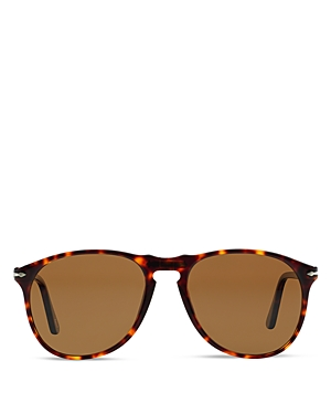 Persol Polarized Icons Collection Evolution Pilot Acetate Sunglasses, 55mm