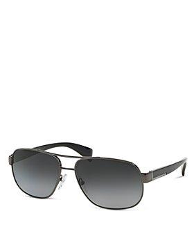 Prada - Men's Polarized Pilot Aviator Sunglasses, 52mm
