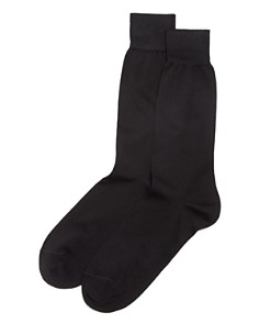 The Men's Store at Bloomingdales Cotton Blend Dress Socks - 100% Exclusive_0