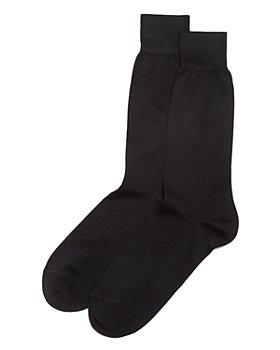 The Men's Store at Bloomingdale's - Cotton Blend Dress Socks - 100% Exclusive