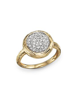 Bloomingdale's - Diamond Circle Statement Ring in 14K Yellow Gold, .40 ct. t.w. - 100% Exclusive