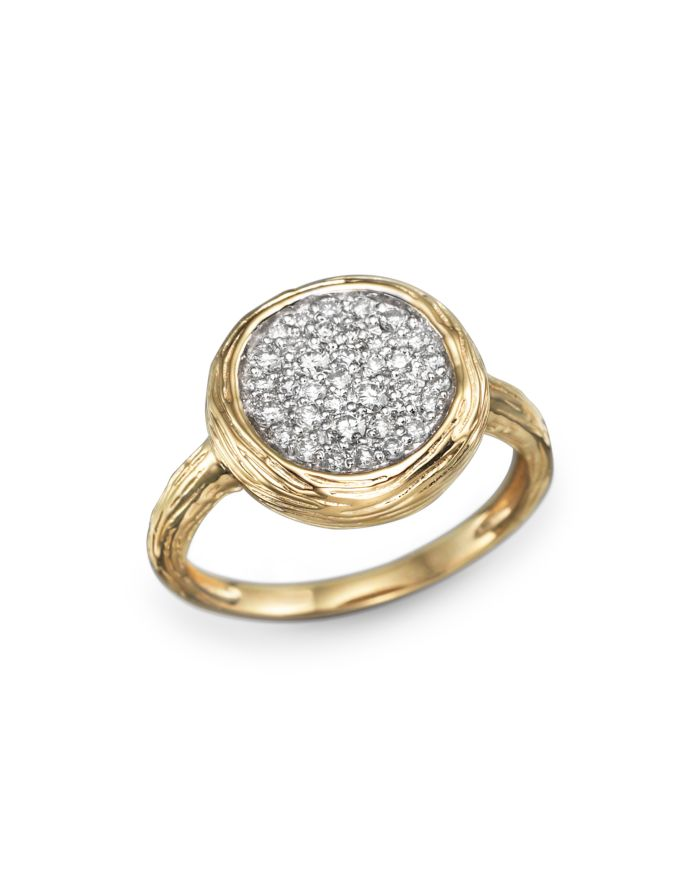 Bloomingdale's Diamond Circle Statement Ring in 14K Yellow Gold, .40 ct. t.w. - 100% Exclusive    Bloomingdale's