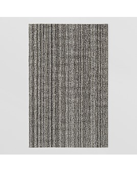 "Chilewich - Skinny Stripe Indoor/Outdoor Shag Mat, 18"" x 28"""