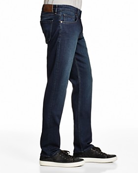PAIGE - Transcend Federal Slim Fit Jeans in Banner
