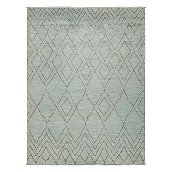 "Solo Rugs - Vibrance Collection Oriental Rug, 8'10"" x 11'8"""