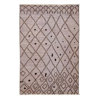 """Solo Rugs - Vibrance Collection Oriental Rug, 6'3"""" x 8'10"""""""