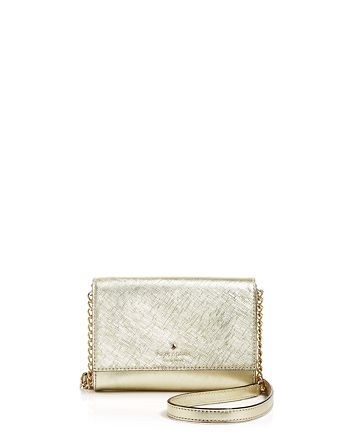kate spade new york - Cedar Street Cami Metallic Mini Crossbody
