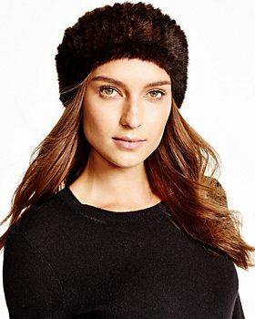 Maximilian Furs - Knitted Mink Headband