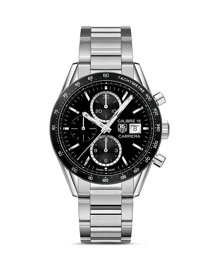 TAG Heuer - Carrera Automatic Tachymeter Watch, 41mm