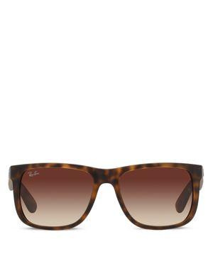 Ray-Ban Justin Wayfarer Square Sunglasses, 55mm