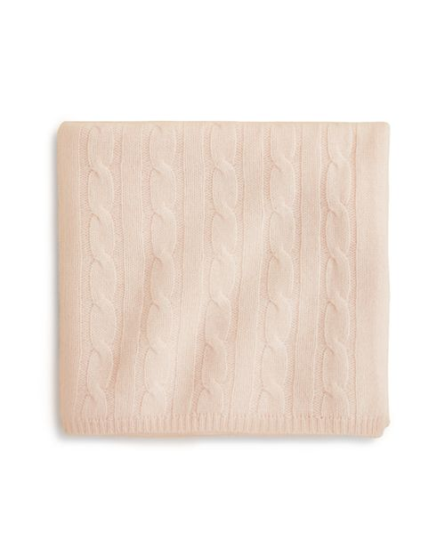 Bloomie's - Infant Girls' Cable Knit Blanket - 100% Exclusive
