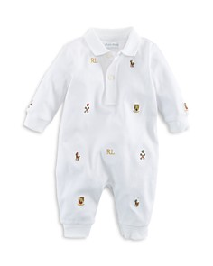 Ralph Lauren Boys' Embroidered Coverall - Baby - Bloomingdale's_0