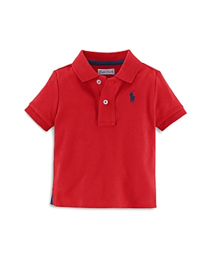 Ralph Lauren Boys Solid Polo Shirt  Baby
