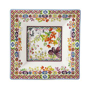 Gien France - Bagatelle Large Square Candy Tray
