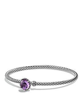David Yurman - Châtelaine Bracelet with Amethyst