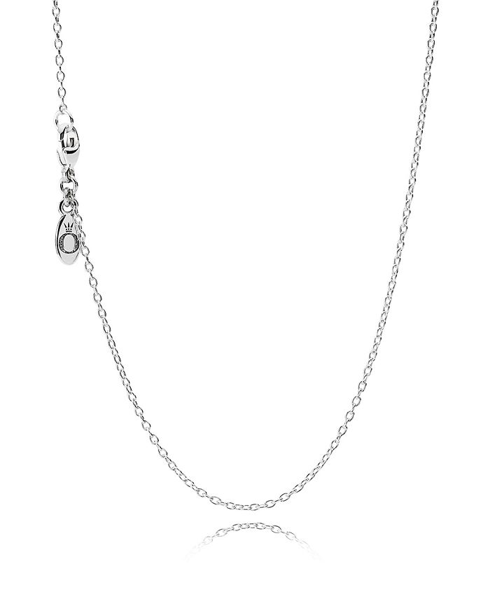 """Pandora - Sterling Silver Chain Necklace, 17.7"""""""