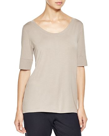 Hanro - Yoga Three-Quarter Sleeve Top