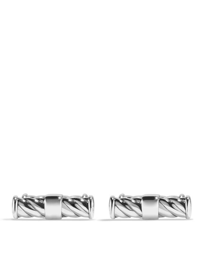 David Yurman Cable Classic Cufflinks  | Bloomingdale's