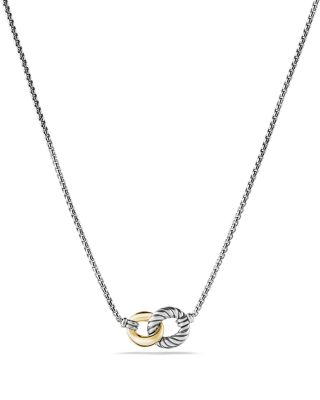 Belmont Necklace with 18K Gold