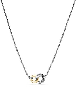 David Yurman - Belmont Necklace with 18K Gold