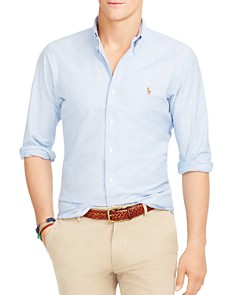 Polo Ralph Lauren Slim-Fit Stretch-Oxford Shirt - Bloomingdale's_0