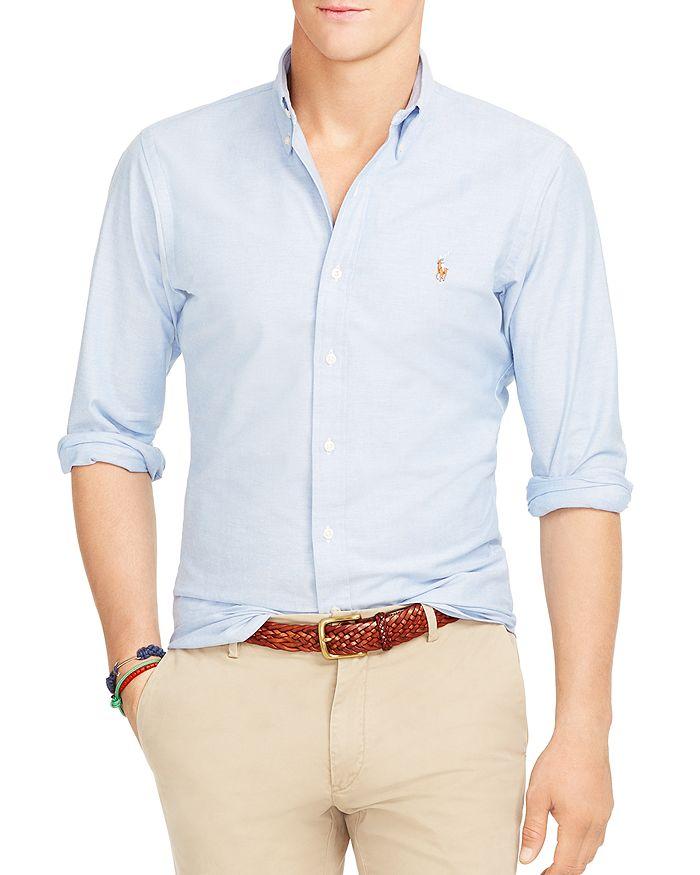 190590b62 Polo Ralph Lauren - Slim-Fit Stretch-Oxford Shirt
