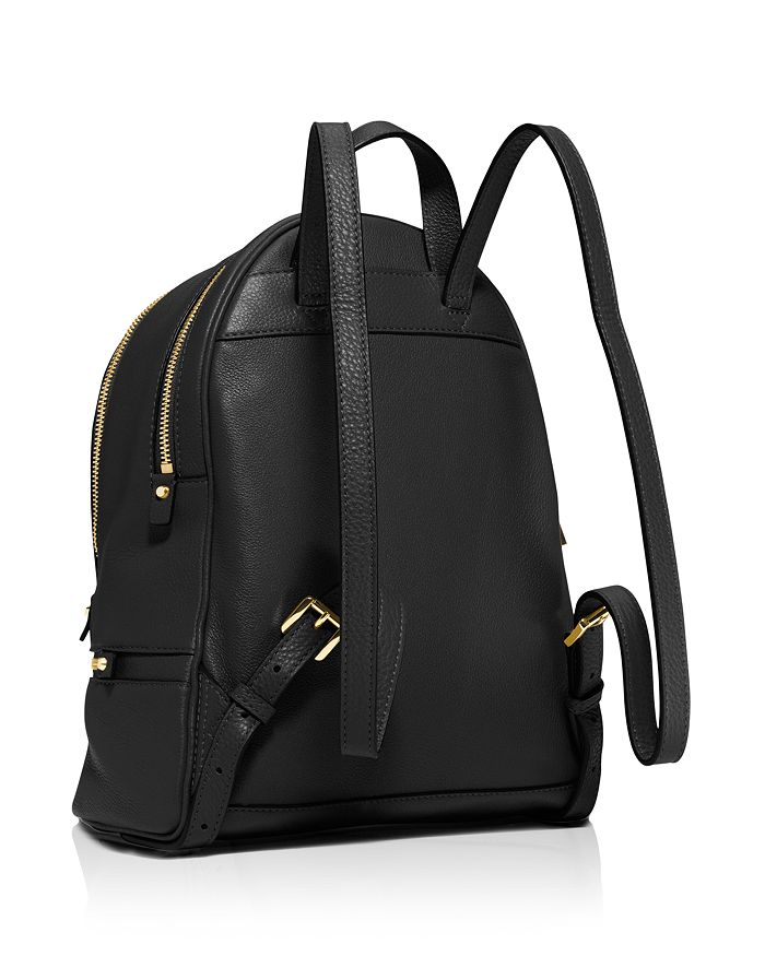 205d3a738cf9 MICHAEL Michael Kors Rhea Zip Small Leather Backpack | Bloomingdale's