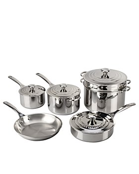 Le Creuset - Stainless Steel 10-Piece Set