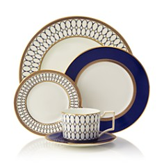 "Wedgwood - ""Renaissance Gold"" 5 Piece Place Setting"