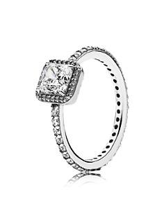 PANDORA Sterling Silver & Cubic Zirconia Timeless Elegance Ring - Bloomingdale's_0