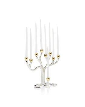 "Rite Lite - Rite Lite Silver ""Tree of Life"" (TM) Menorah"