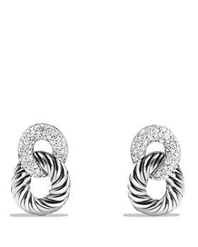 David Yurman - Belmont Drop Earrings with Diamonds