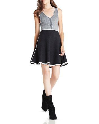 BCBGENERATION - Color Block Fit & Flare Dress