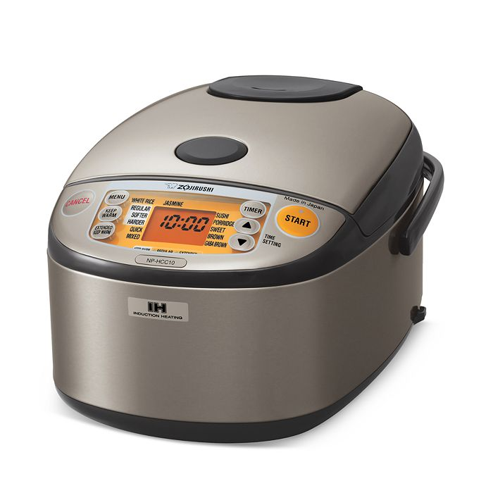 Zojirushi - Induction Heating 5.5-Cup Rice Cooker & Warmer