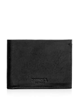 Shinola - Slim Bifold Wallet