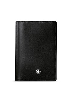 Montblanc - Meisterstück Leather Business Card Holder with Gusset