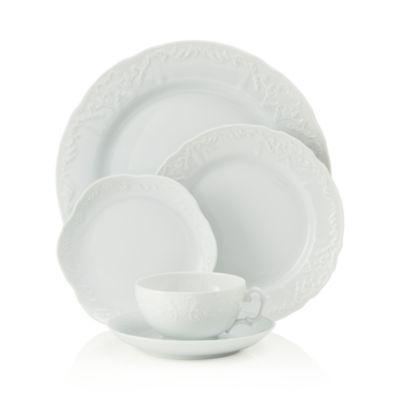 Simply Anna White Tea Saucer