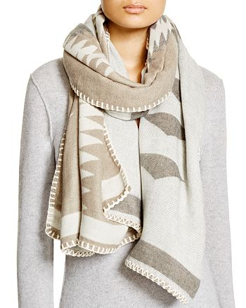 Fraas - Whipstitch Tribal Wrap Scarf