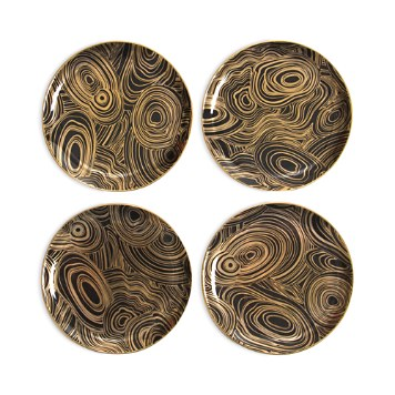 $Jonathan Adler Malachite Coaster Set - Bloomingdale's