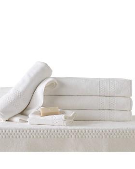 Frette - Checkerboard Washcloth