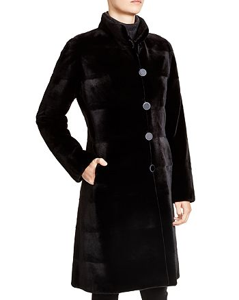 Maximilian Furs - Sheared Kopenhagen Mink Reversible Coat - 100% Exclusive