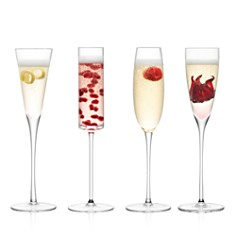 LSA Lulu Assorted Champagne Flutes, Set of 4 - Bloomingdale's_0