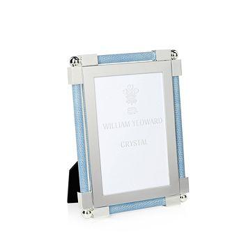 "William Yeoward Crystal - Classic Shagreen Photo Frame, 4"" x 6"""