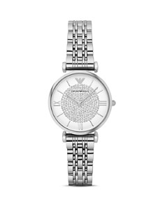 Emporio Armani - Women's Two Hand Stainless Steel Watch, 32 mm