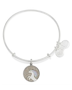 Alex and Ani - Unicorn Expandable Wire Bangle, Charity by Design Collection