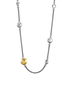JOHN HARDY - Sterling Silver & 18K Gold Palu Station Sautoir Necklace, 36""
